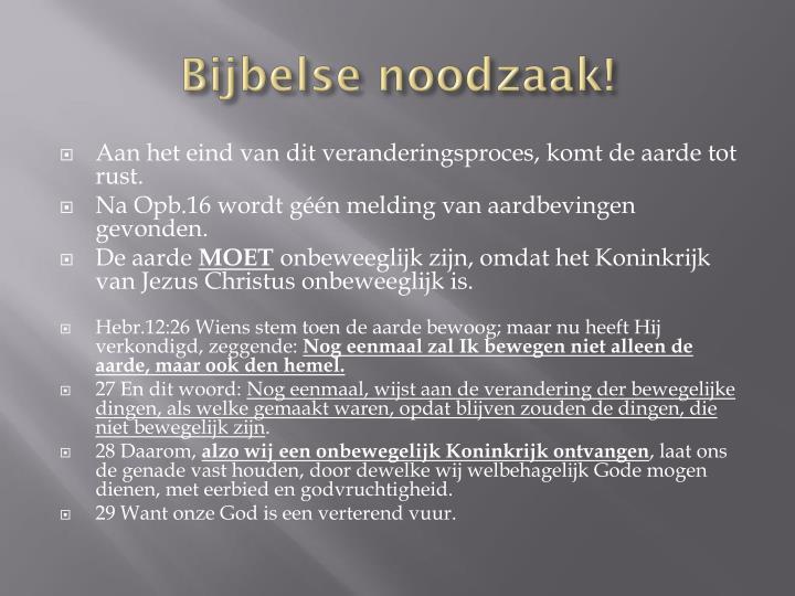 Bijbelse