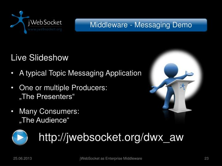 Middleware - Messaging Demo