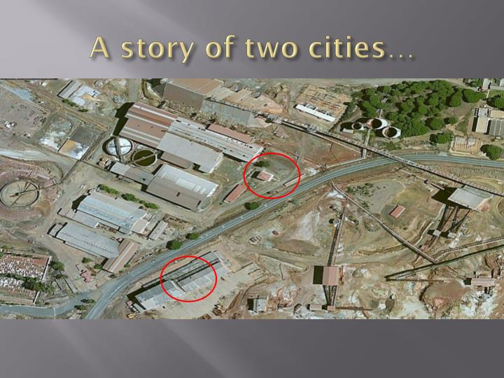 A story of two cities…