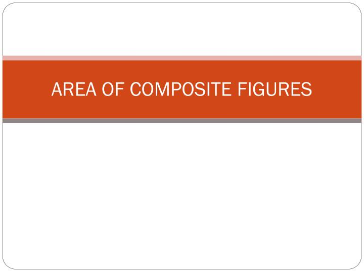 area of composite figures