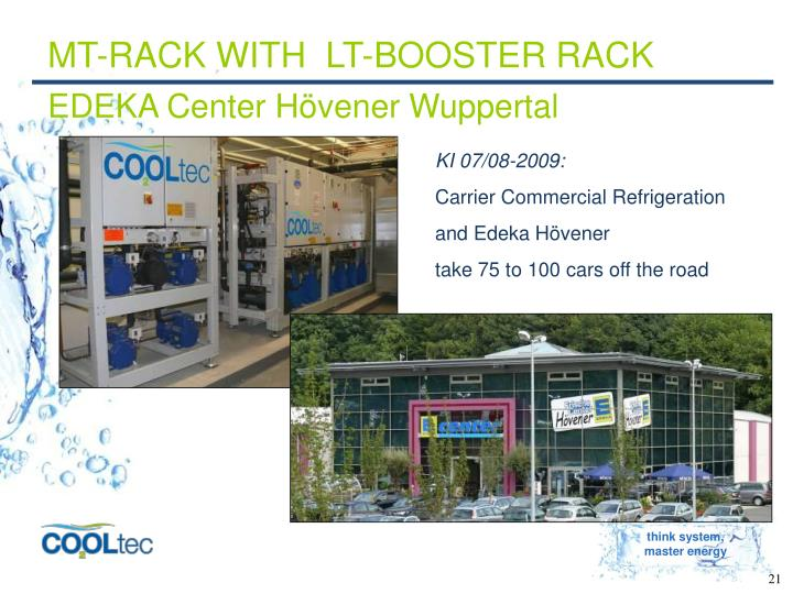 MT-RACK WITH  LT-BOOSTER RACK