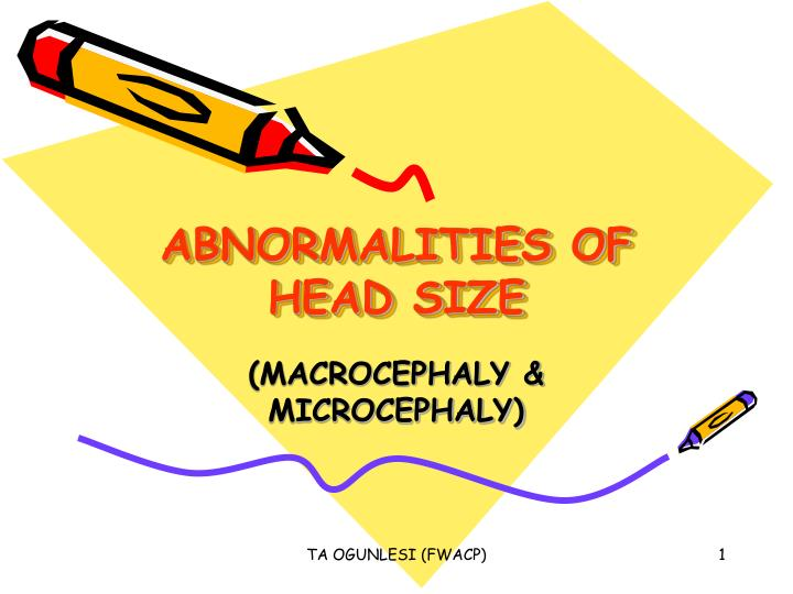 Abnormalities of head size