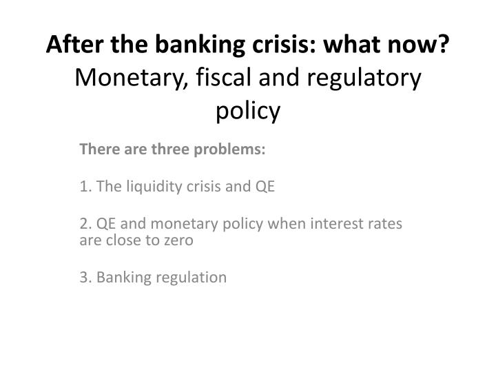 essays on banking crisis Essay about financial crisis should outline the main reasons of the crisis in the country, its negative effects on the economic growth and society well-being fiat money and fractional reserve banking allows banks to access free money at the same time it makes government to appear to be.