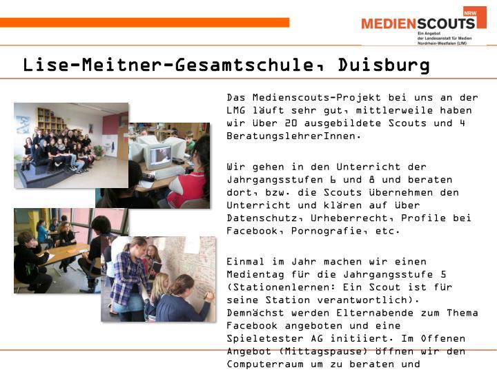 Lise-Meitner-Gesamtschule, Duisburg