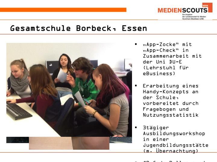 Gesamtschule Borbeck, Essen