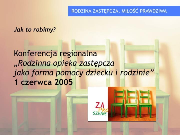 Konferencja regionalna