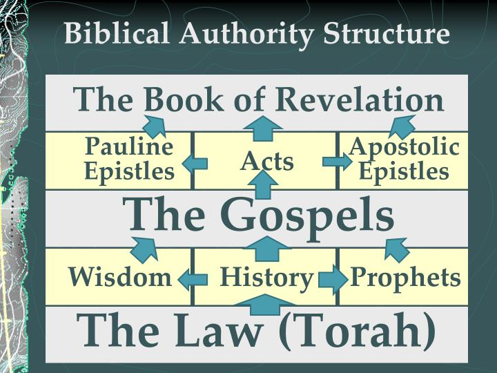 Biblical Authority Structure