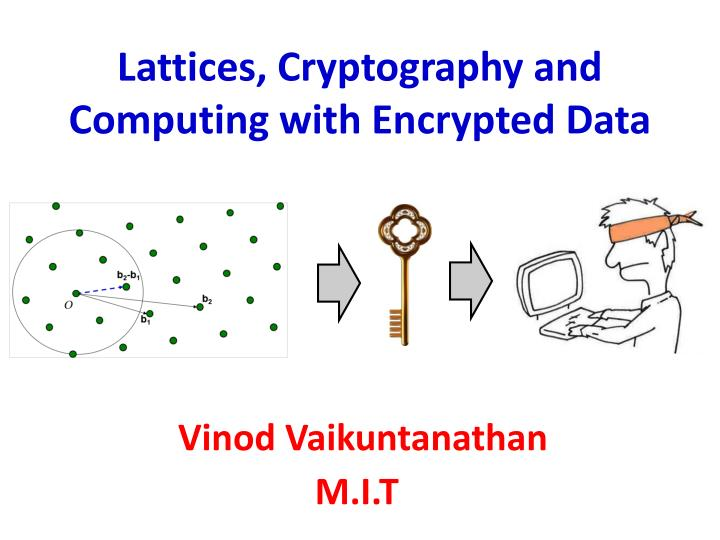 Lattices, Cryptography and