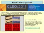 a ltima sobre light cloak