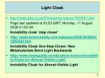 light cloak