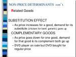 non price determinants con t1