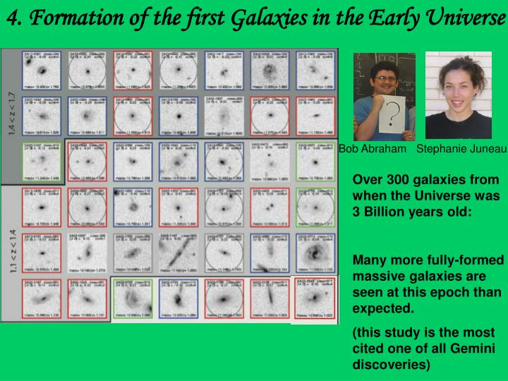 4. Formation of the first Galaxies in the Early Universe