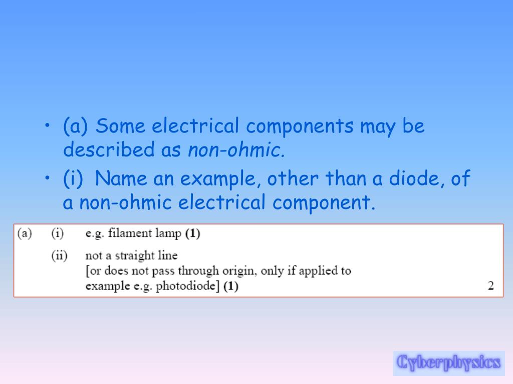 PPT - Electricity Revision PowerPoint Presentation - ID:4844935