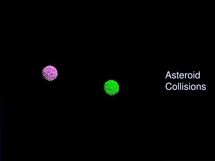 Asteroid Collisions