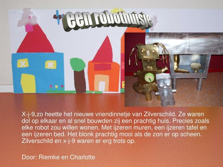 een robothuisje