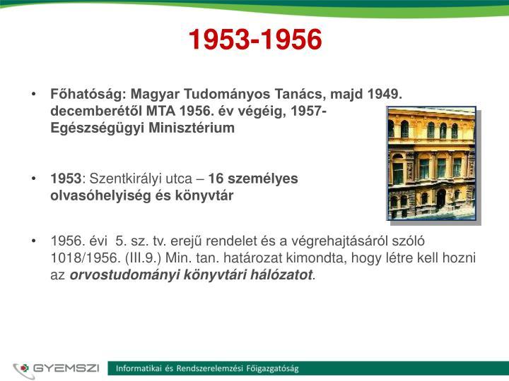 1953 1956