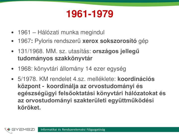 1961-1979