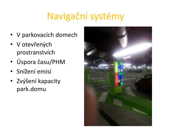 Navigační systémy