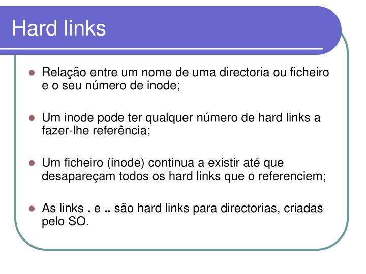 Hard links