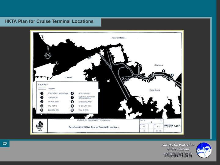 HKTA Plan for Cruise Terminal Locations