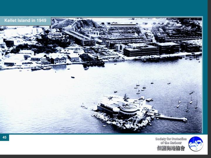 Kellet Island in 1949