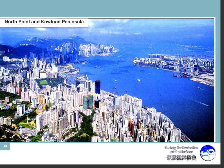 North Point and Kowloon Peninsula