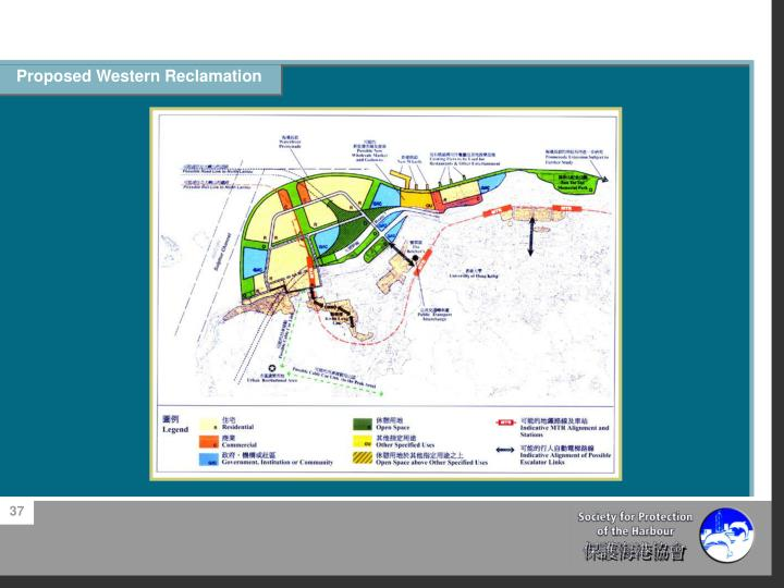 Proposed Western Reclamation