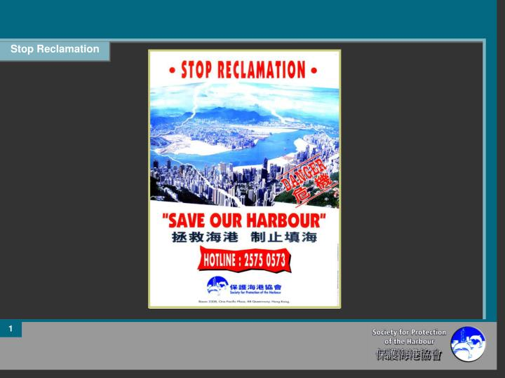 Stop Reclamation