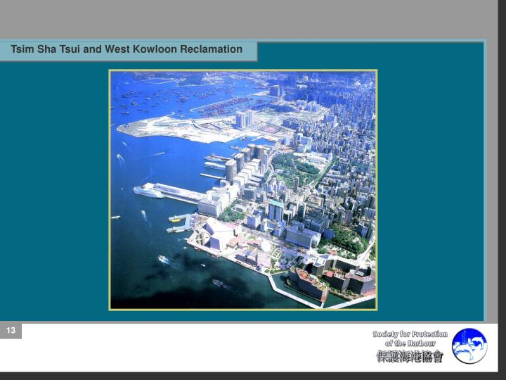 Tsim Sha Tsui and West Kowloon Reclamation