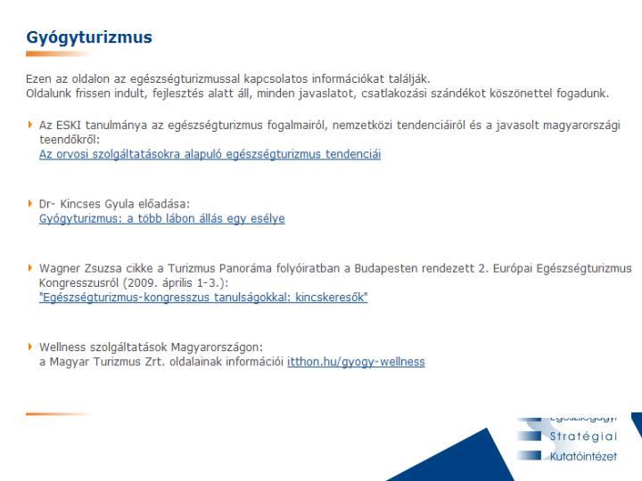 Intézetünk új szolgáltatásai