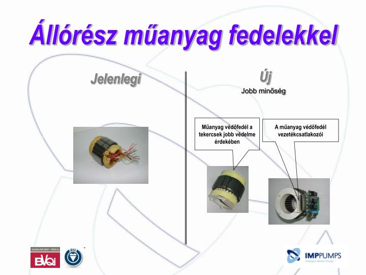 Műanyag védőfedél a tekercsek jobb védelme érdekében