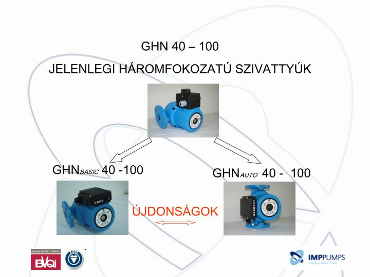 GHN 40 – 100