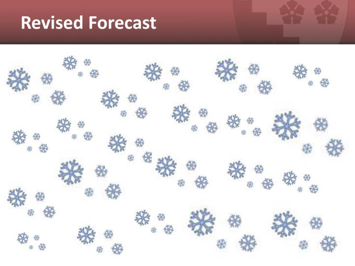 Revised Forecast