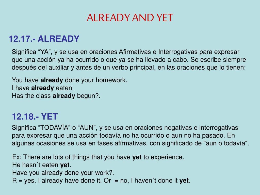 Ppt El Tiempo Perfecto Simple Powerpoint Presentation