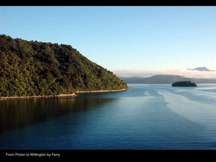 From Picton to Willington by Ferry