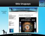 www astronomia2009 org uy