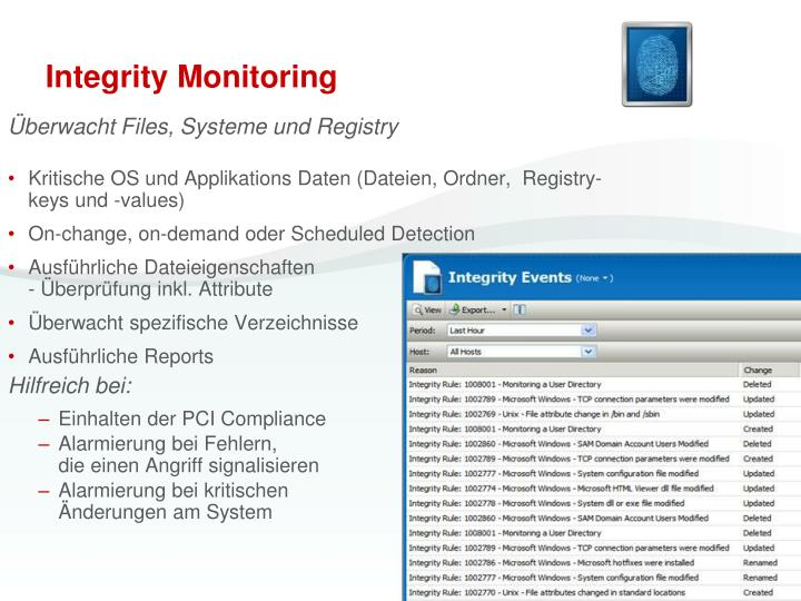 Integrity Monitoring