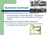 questions continued7