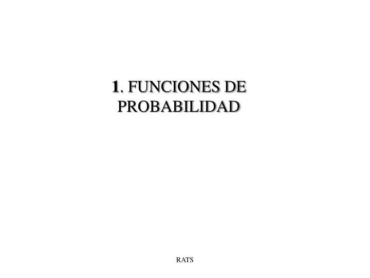 1 funciones de probabilidad