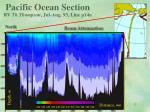 pacific ocean section rv th thompson jul aug 93 line p14n