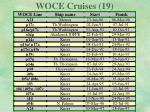 woce cruises 19