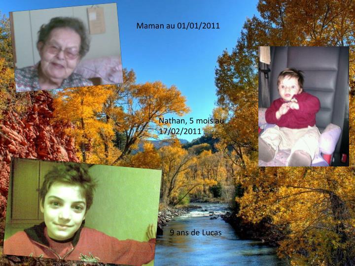 Maman au 01/01/2011
