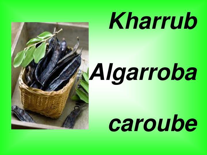 Kharrub