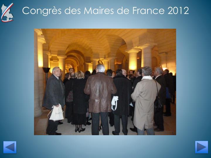 Congr s des maires 2014 inscription for Inscription salon des maires
