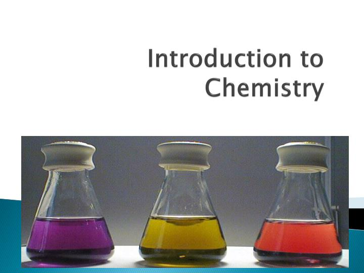 introduction to chemistry n.