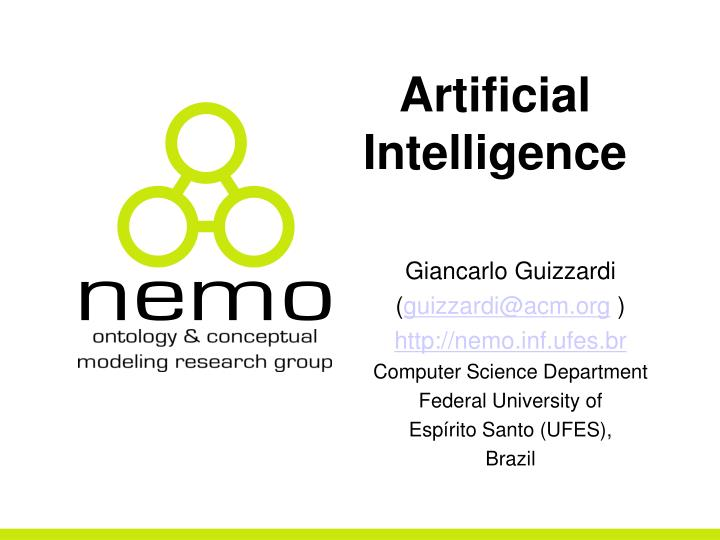 artificial intelligence inf 103