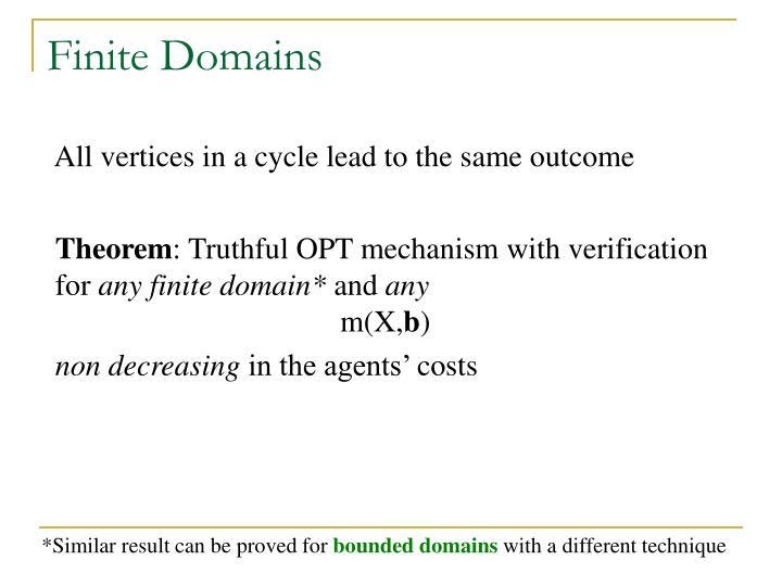 Finite Domains