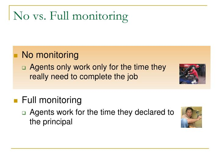 No vs. Full monitoring