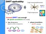 dmft applicability