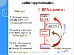 ladder approximation
